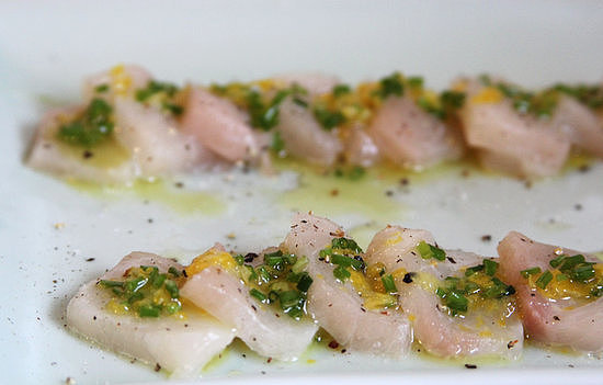 Halibut Crudo