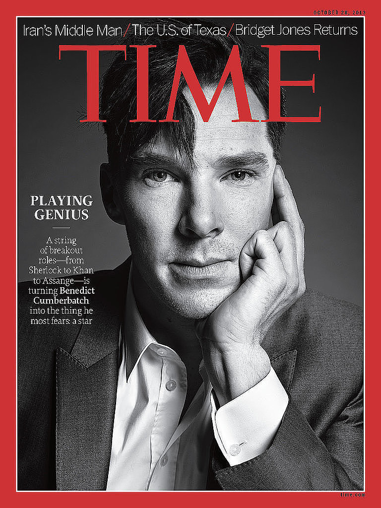 He Was on the Cover of Time