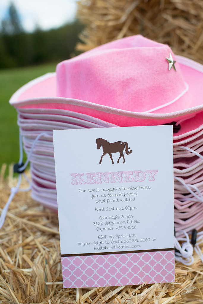 Cowgirl Hat Favors