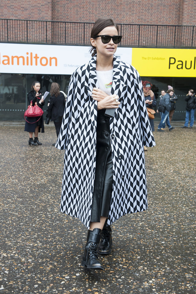Another perfect look from Miroslava Duma.