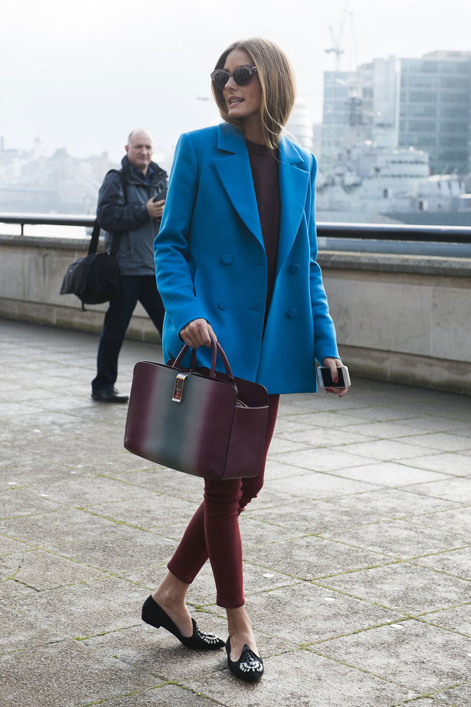 Is the blue coat the new pink coat?