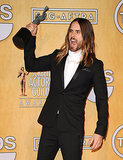 Jared Leto Channeled His Inner Hulk at the SAG Awards