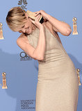 Robin Wright Was Overwhelmed by Her Golden Globe