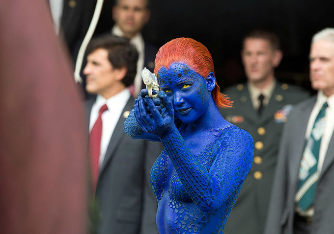 Naked Jennifer Lawrence and Mutant Hippies? Oh, Just Some New X-Men Photos
