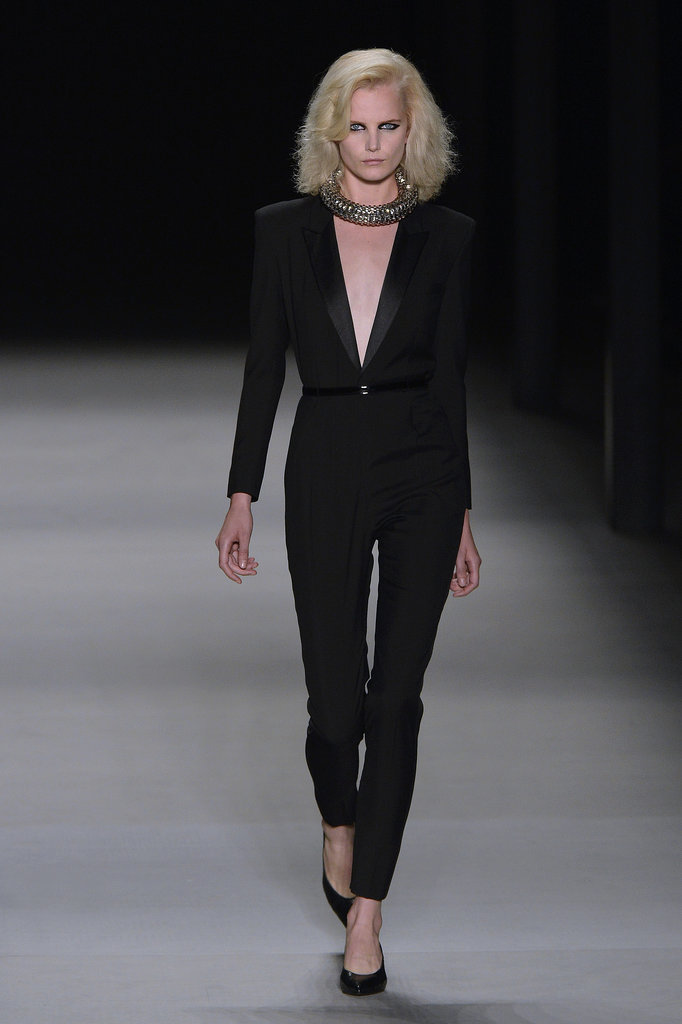 Anne Hathaway: Saint Laurent Autumn/Winter 2014