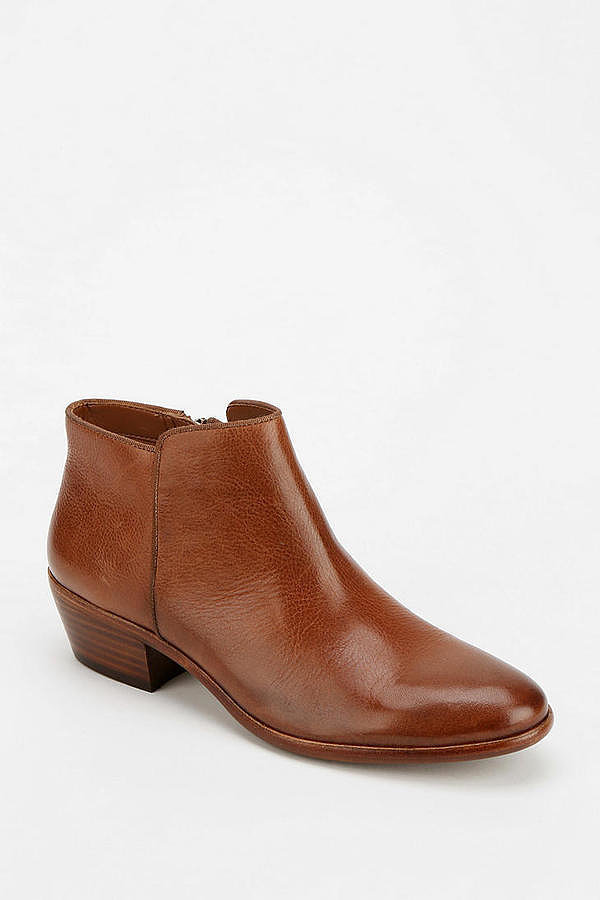 Sam Edelman Brown Leather Petty Ankle Boots ($130)