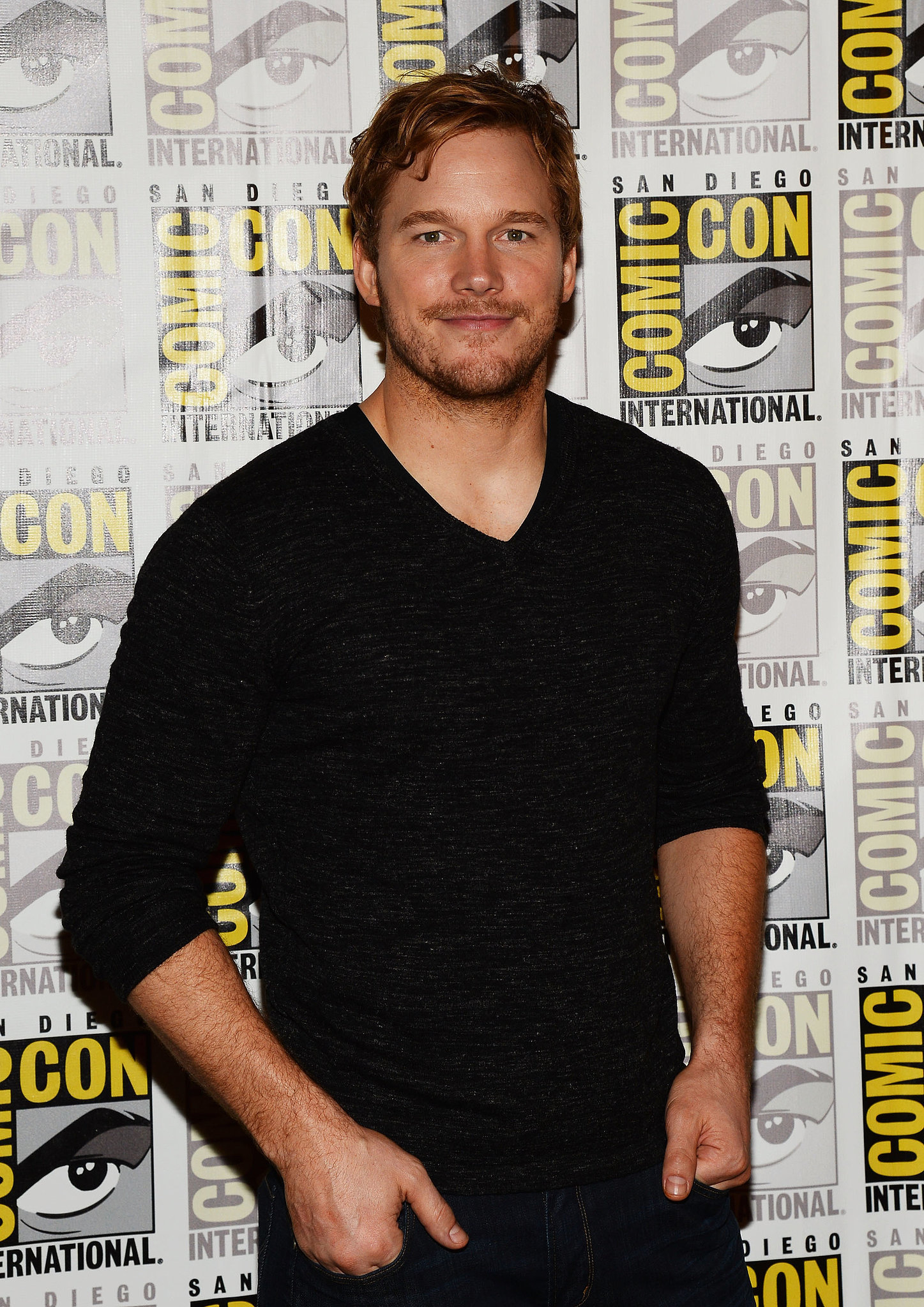 And in 2013, he was looking great at Comic-Con.
