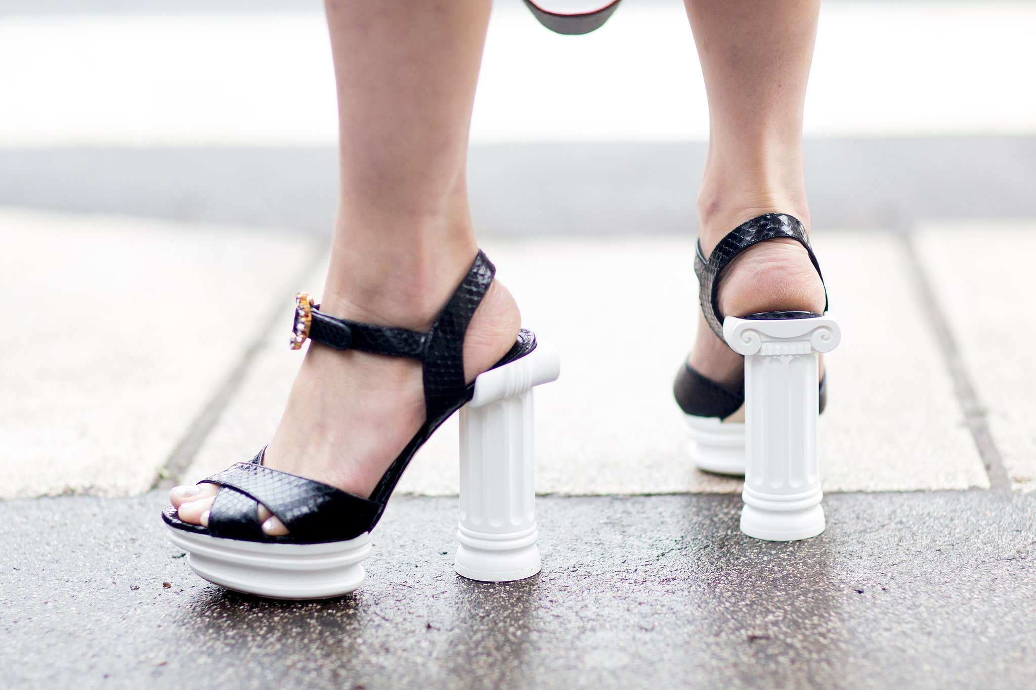 These heels lend a little lift — in more ways than one.