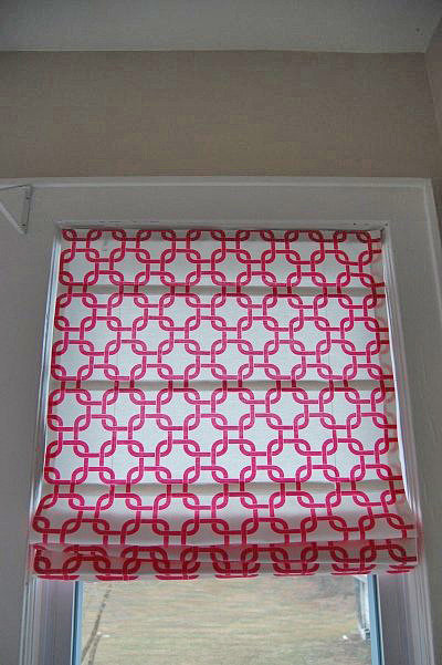 Hang your gorgeous, custom-made roman shades! Source: Made2Style