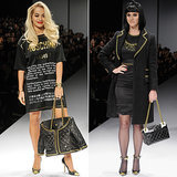 Katy Perry & Rita Ora in the Moschino Fall 2014 Runway Show
