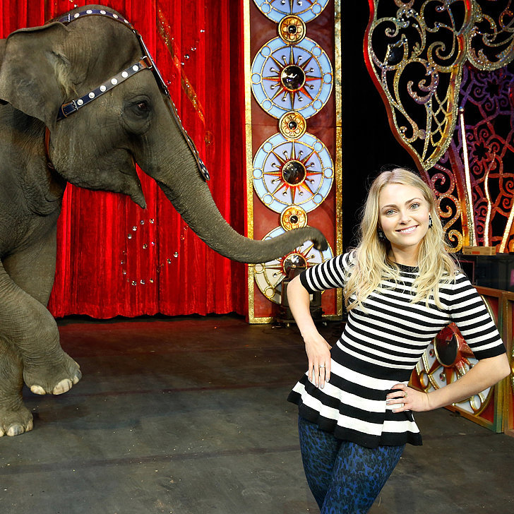 AnnaSophia Robb Dresses For the Greatest Show on Earth
