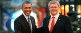 Obama Owes the Canadian Prime Minister Two Cases of Beer