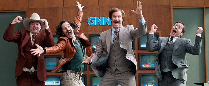 Anchorman 2 Is Returning With Tons of New Jokes