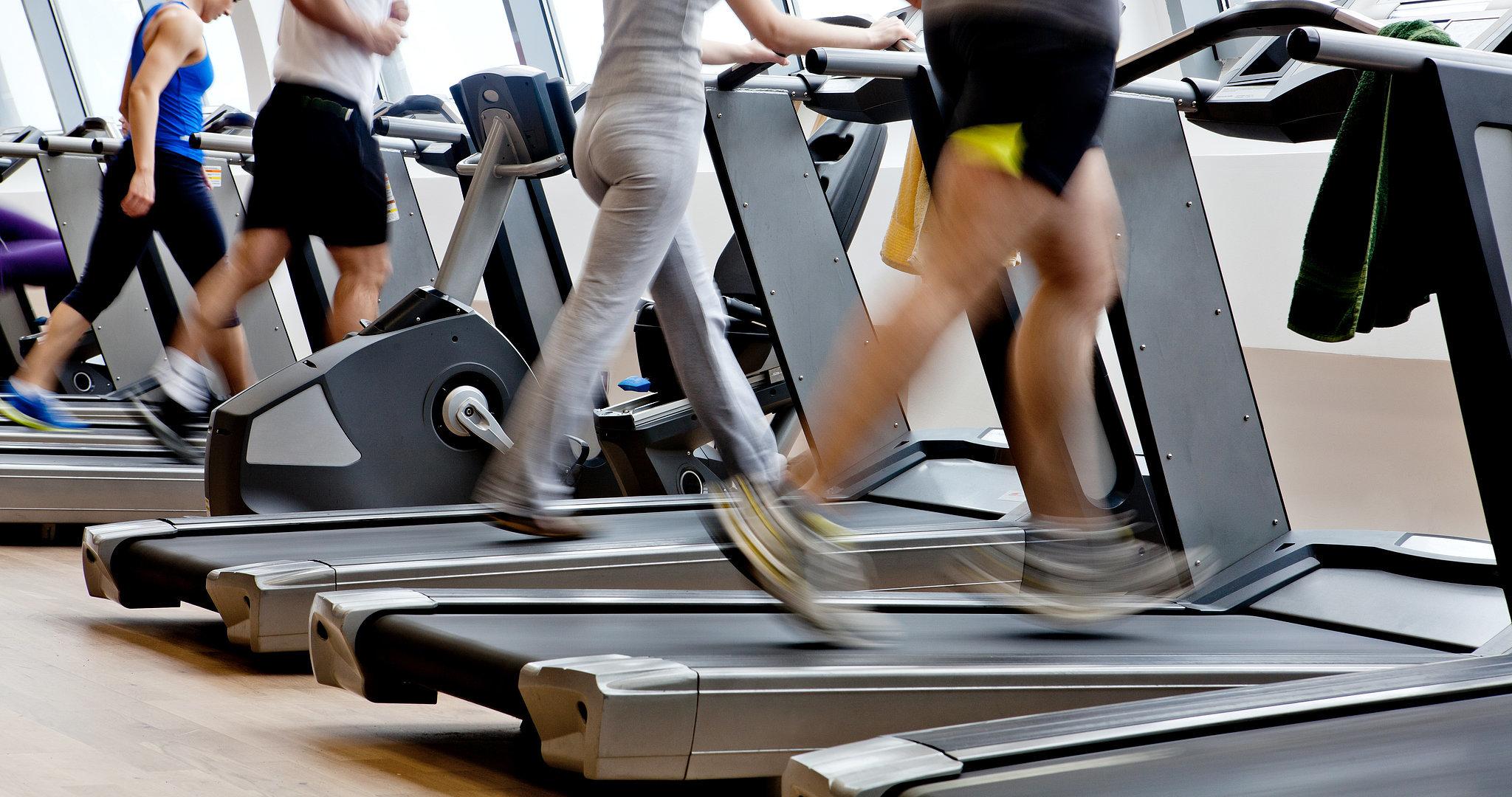 running fitness machine