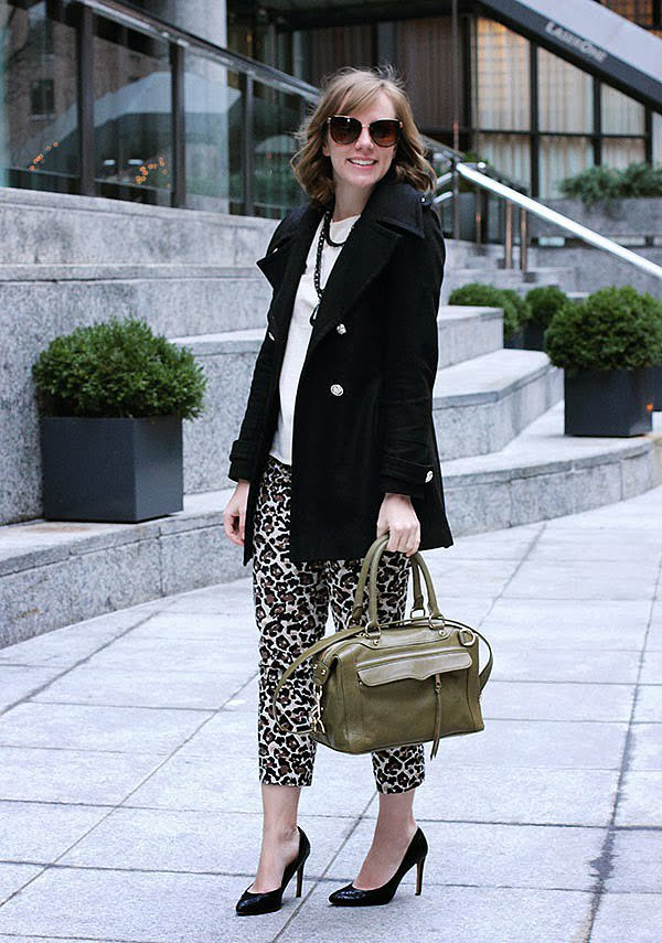 Congrats, RightShoesBlog! Tweed and leopard print have never looked so good together.