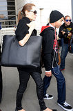 Angelina's Surprising New Bag