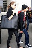 Angelina's Surprising New Bag