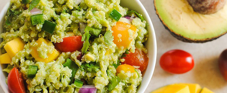 Savory Sight: Guacamole Quinoa With Mango