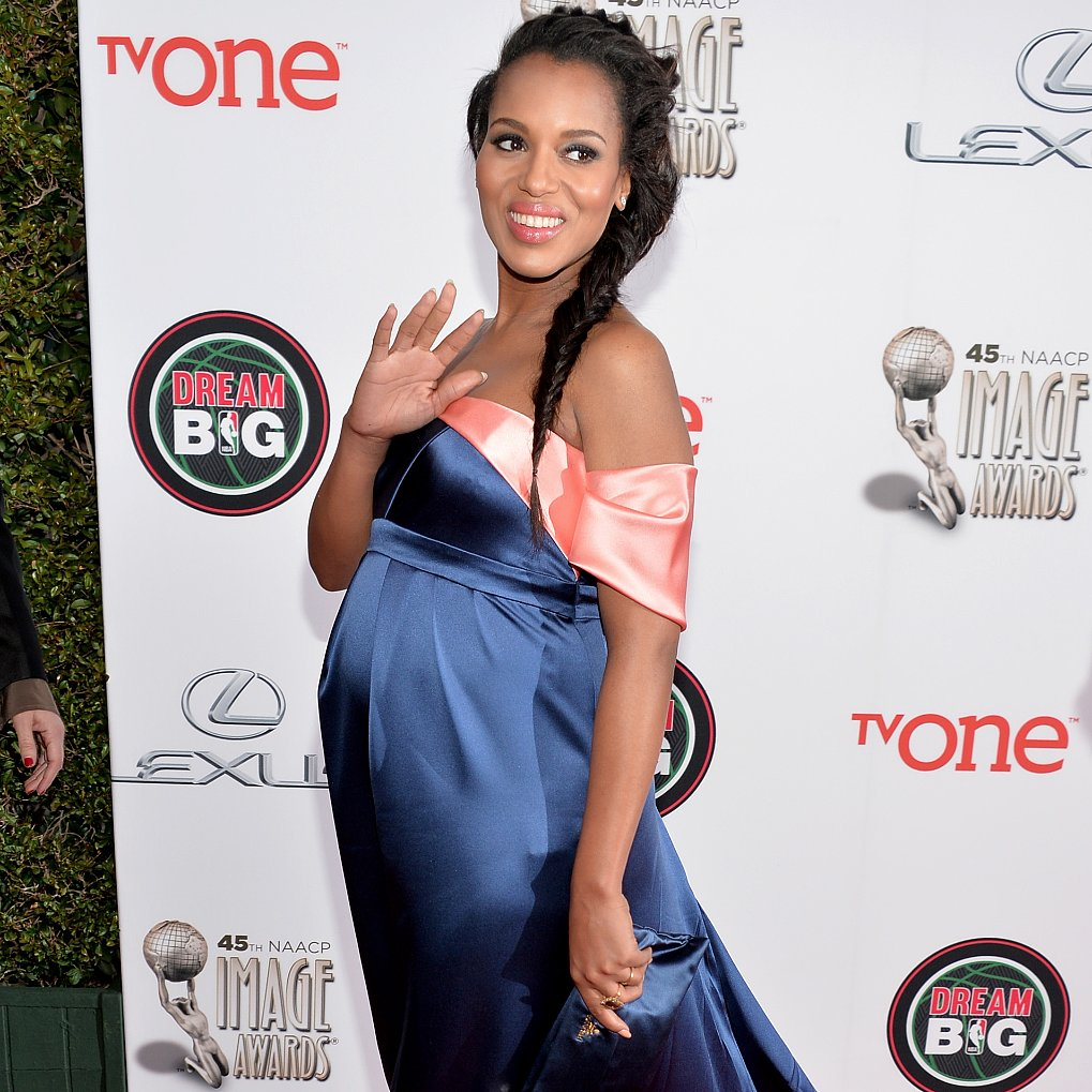 Kerry Washington in Thakoon at the NAACP Image Awards 2014