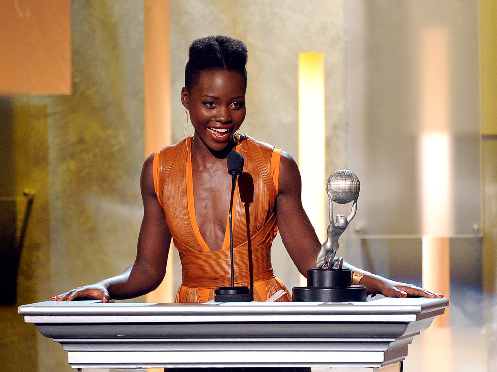 Then Lupita won in her category.
