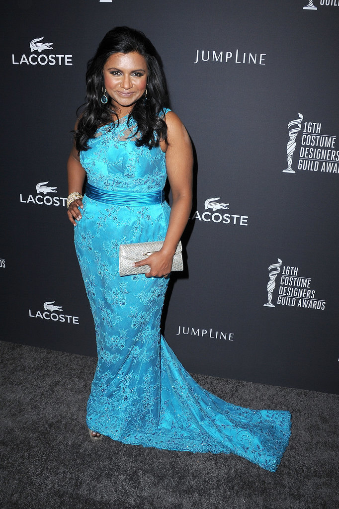 Mindy Kaling at the Costume Designers Guild Awards
