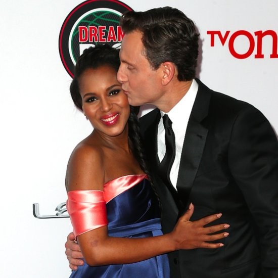 Kerry Washington Pregnant at the 2014 NAACP Awards | Photos