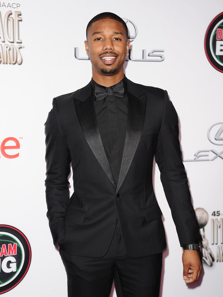 Michael B. Jordan brought his good looks.