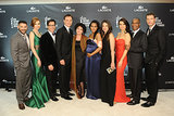 The cast of Scandal gathered for a group picture.