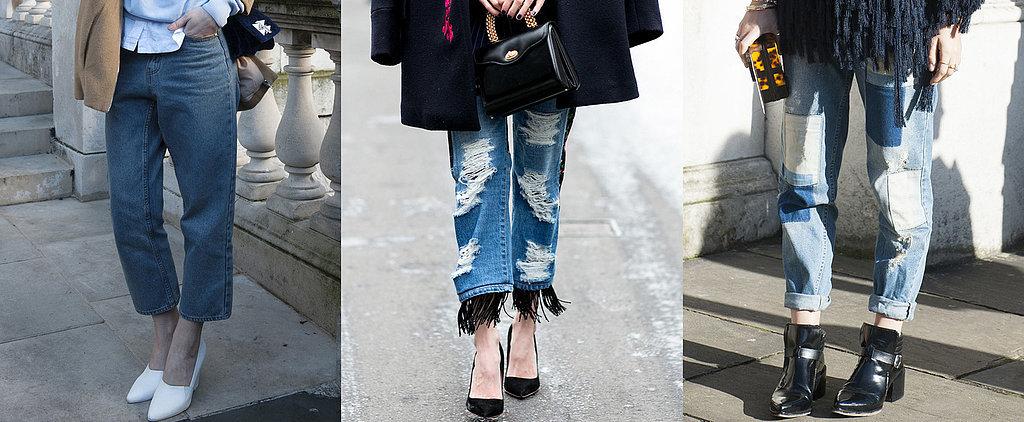 7 Ways to Wear Your Boyfriend Jeans