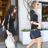 Taylor Swift in Sparrow Dress Shopping With Lorde