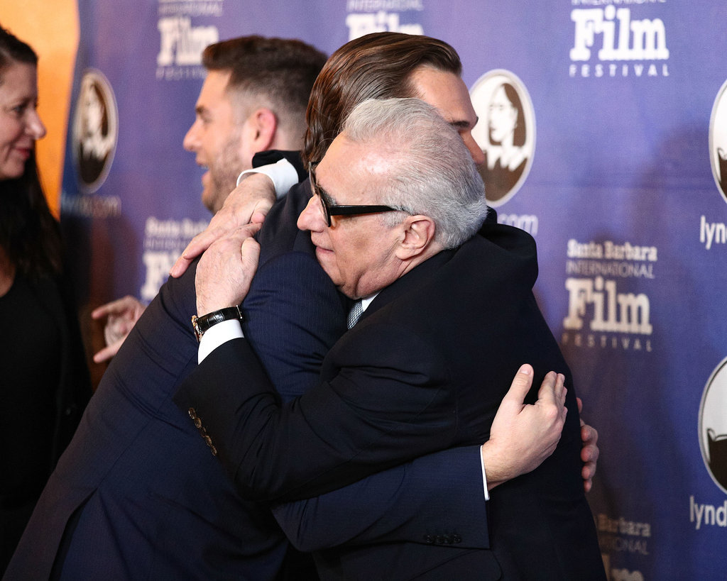Leo Hugged It Out With Martin Scorsese at the Santa Barbara Film Festival Awards