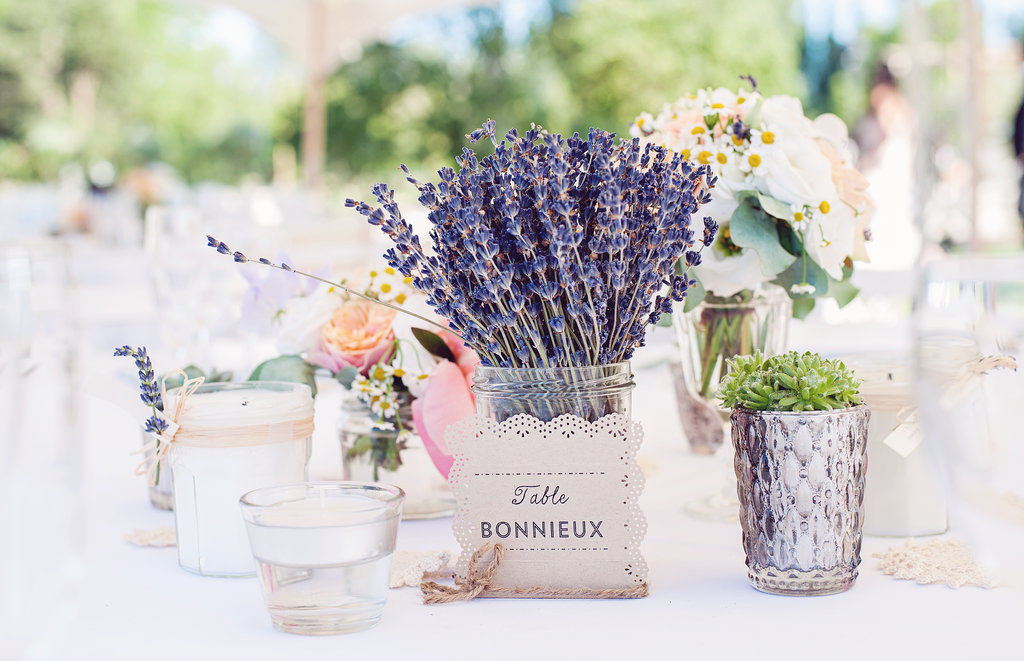 Lavender Table Settings