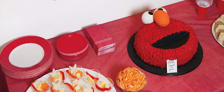 Yes, You Can Have a Sophisticated Elmo Party — See How Martha Stewart Did It!