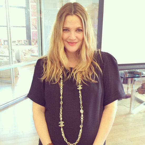 Drew Barrymore Interview: Makeup Routine and Flower Beauty