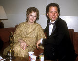 The pair was all smiles backstage at the Oscars in 1983 after Meryl won best actress for her role in Sophie's Choice.