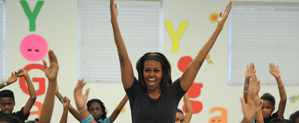 Michelle Obama Proposes Ban on Junk Food Advertising in Schools