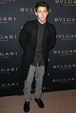 Nick Jonas at the Bulgari Decades of Glamour Oscar Party