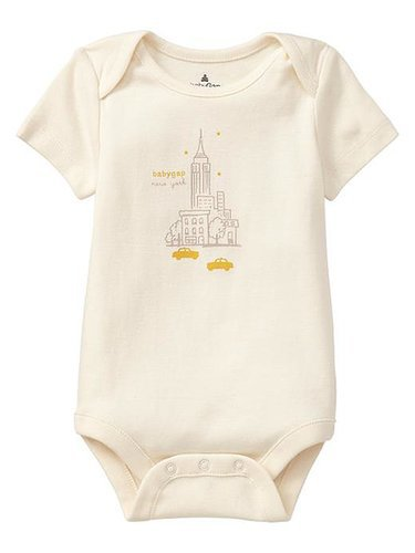 BabyGap City Graphic Bodysuit