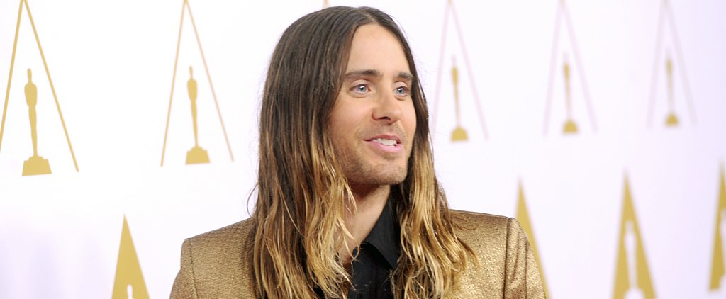 How Is Jared Leto Doing His Hair For the Oscars?