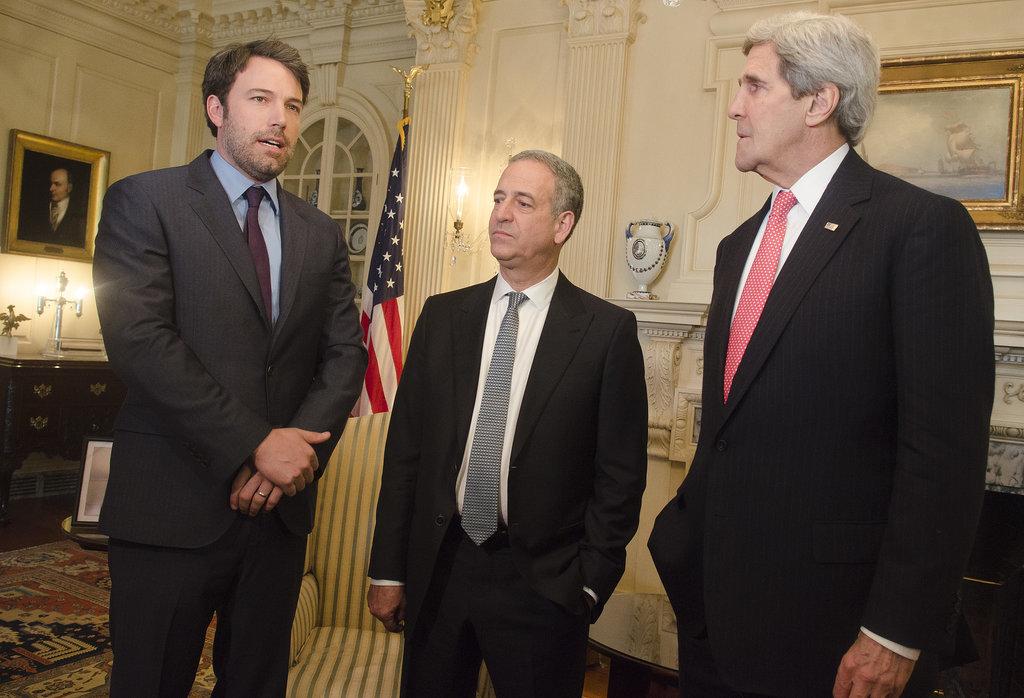 John Kerry Isn't Feeling Ben Affleck's Bro Nudge
