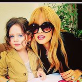 Rachel Zoe enjoyed Sunday brunch with Skyler. Source: Instagram user rachelzoe