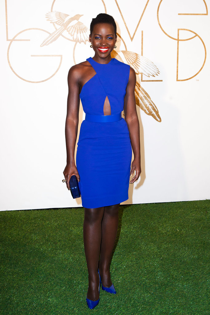 Lupita Nyong'o at the LoveGold Celebration