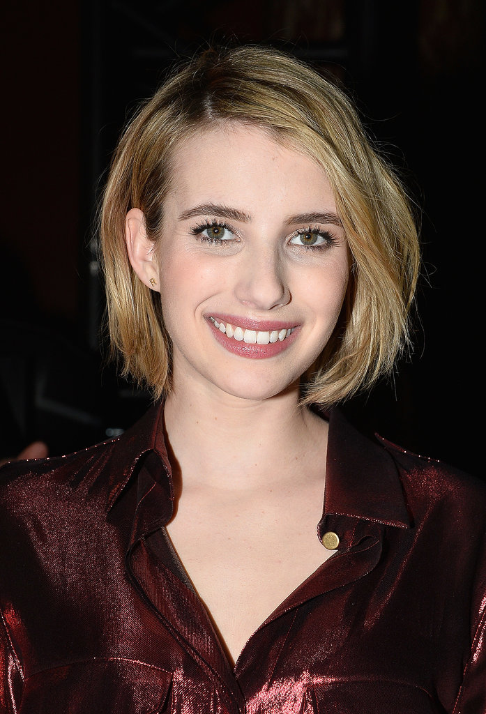 Emma Roberts at Lanvin