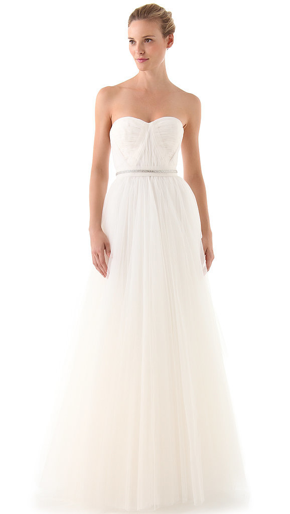 Reem Acra Virtue Strapless Gown ($2,800)