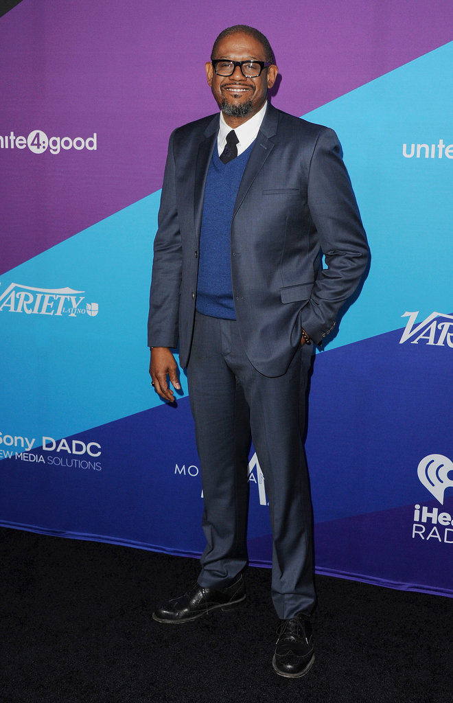 Forest Whitaker looked dapper.