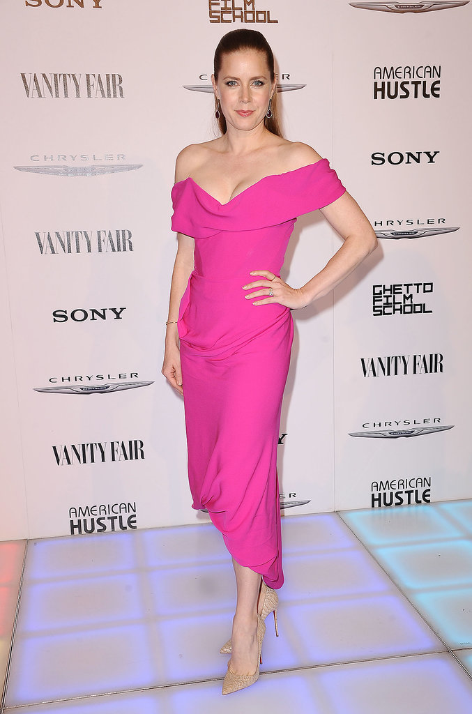 Amy Adams at Vanity Fair's American Hustle Toast
