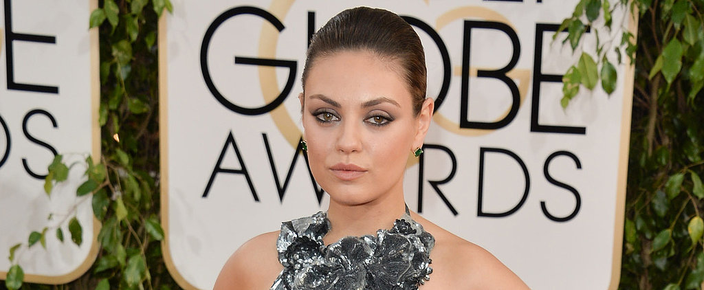 Smudgy Eyeliner (and Ashton Kutcher) Are Mila Kunis's Soul Mates
