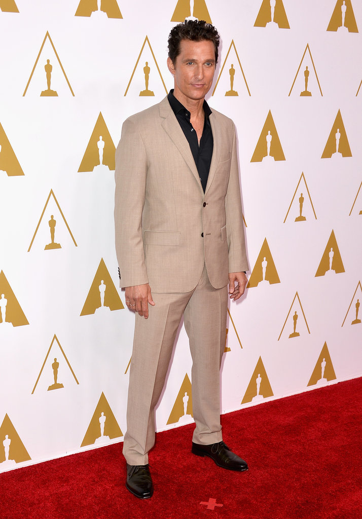 Matthew McConaughey at the Oscars Luncheon