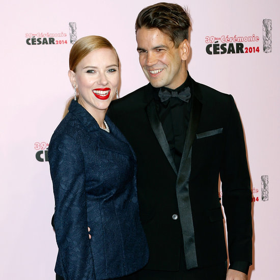 Scarlett Johansson And Fiancé Romain Dauriac At Cesar Awards