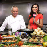 Wolfgang Puck Previews Governors Ball Menu on POPSUGAR Live!